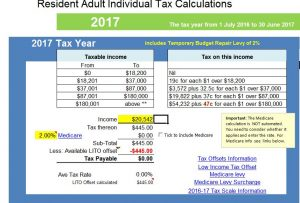 2016-17-threshold Free tax calculator