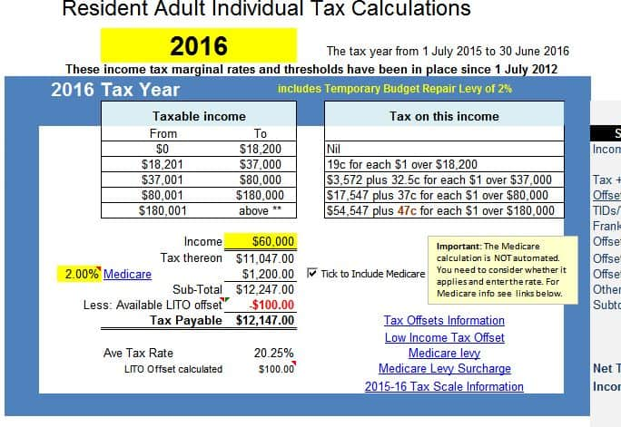 Income Tax Calculator  AtotaxratesInfo