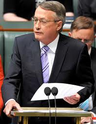 Budget 2013 Federal Treasurer Wayne Swan