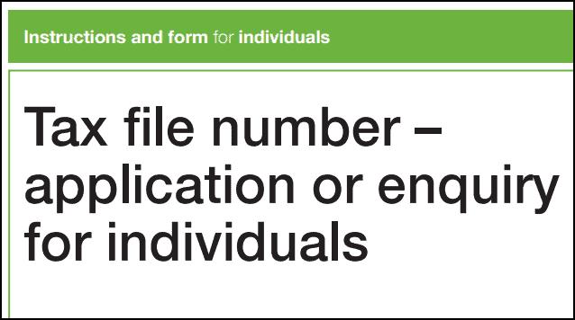 Tax File Number Australia - atotaxrates.info